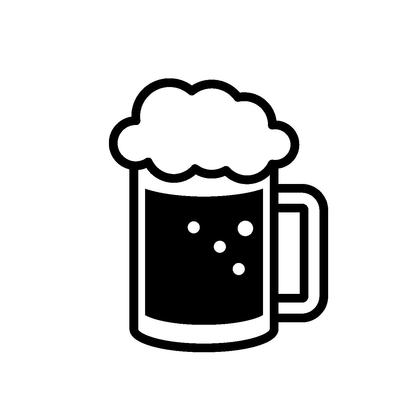 ビールのアイコン