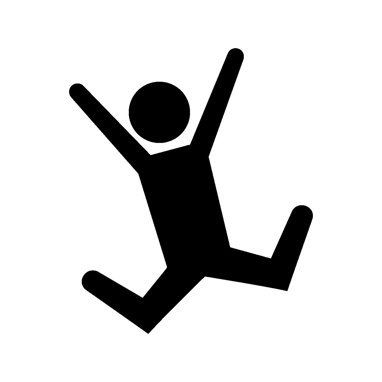 滑ってる人のアイコン