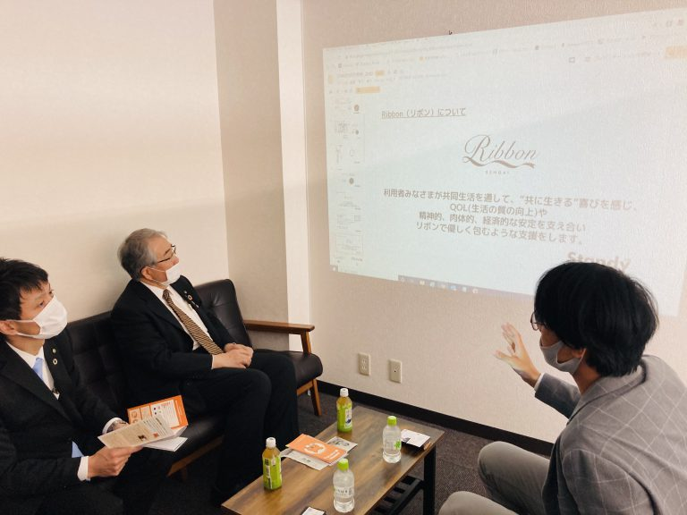 Read more about the article [お知らせ]郡山市長が訪問されました