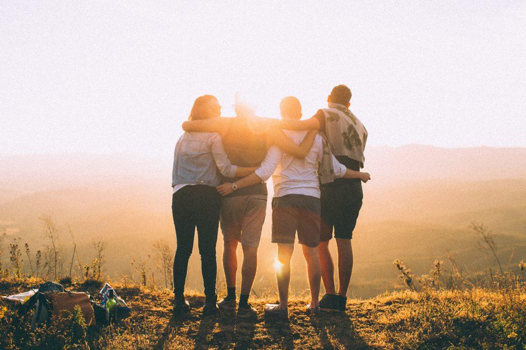 友情の風景の写真